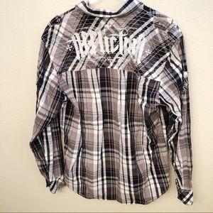 Affliction Shirts - Affliction Button Down Shirt Sz XL